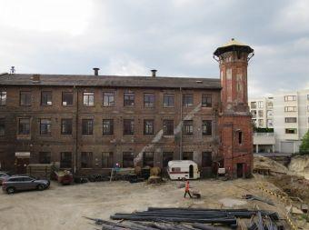 Zabytkowy budynek Fabryki Majewskiego